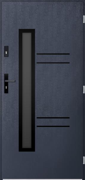 drzwi Polstar Avila noir - Superior 55 Plus