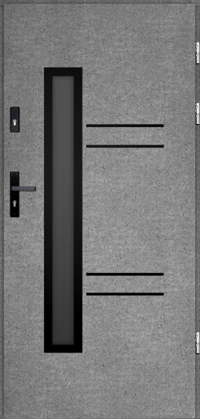 drzwi Polstar Avila noir - Comfort 73