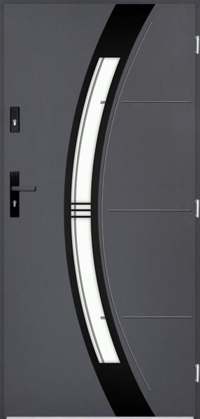 drzwi Polstar Andromeda noir - Superior 55