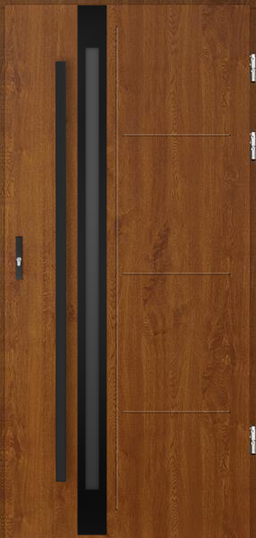 drzwi Polstar Galileo noir - Comfort 73 Plus