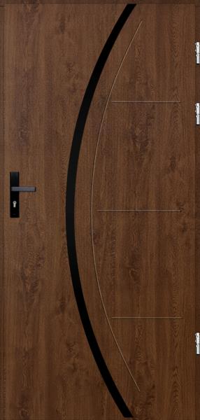 drzwi Polstar Phoenix noir - Comfort 73 Plus
