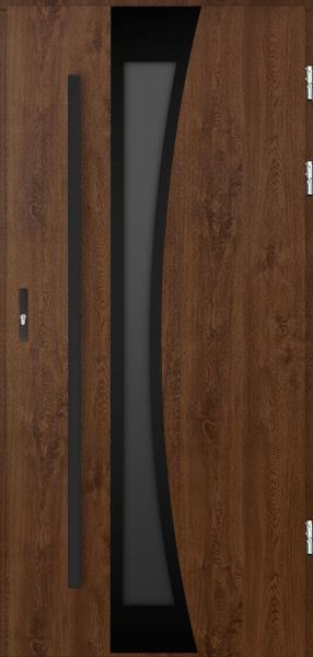 drzwi Polstar Gemini noir - Comfort 73 Plus