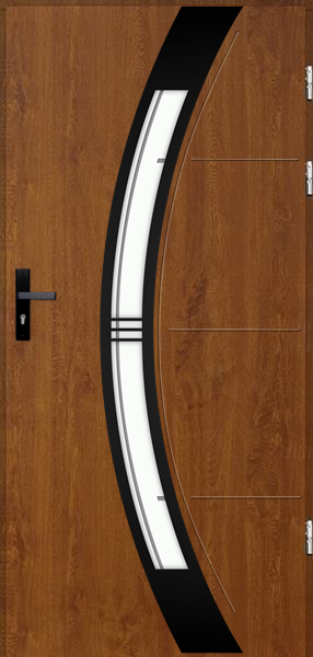 drzwi Polstar Andromeda noir - Comfort 73 Plus