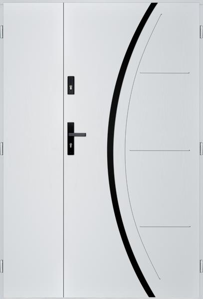 drzwi Polstar Phoenix noir - Superior 55 Plus