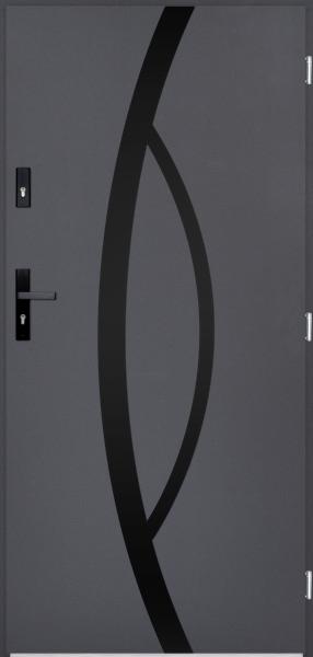 drzwi Polstar Kastor noir - Superior 55