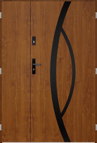 drzwi Polstar Kastor noir - Superior 55 Plus