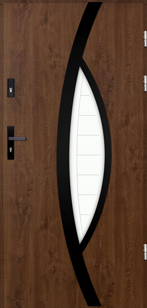 drzwi Polstar Pegasus noir - Comfort 73