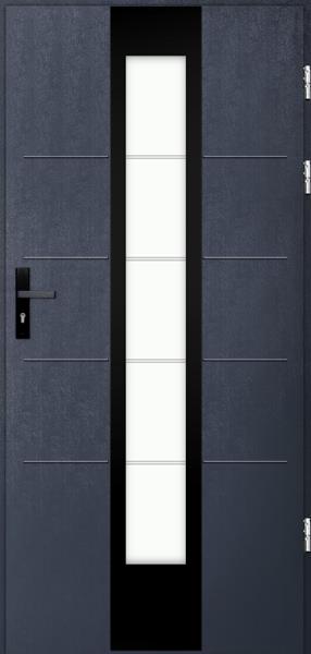 drzwi Polstar Torres noir - Comfort 73 Plus