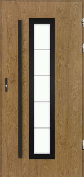drzwi Polstar Hevelius noir - Comfort 73 Plus