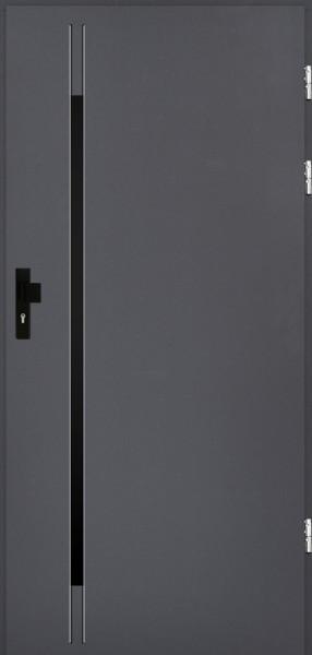 drzwi Polstar Alvarado noir - Comfort 73 Plus