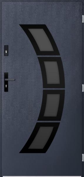 drzwi Polstar Taurus noir - Superior 55 Plus