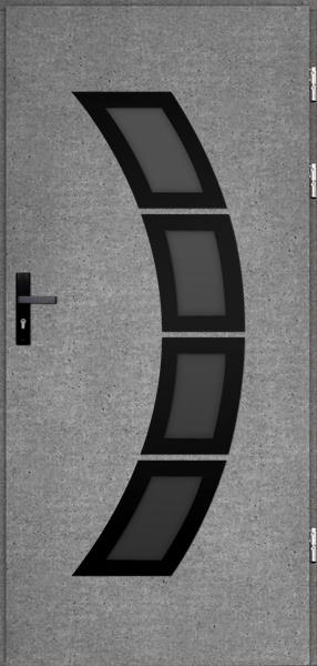 drzwi Polstar Taurus noir - Comfort 73 Plus