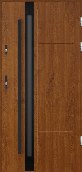 drzwi Polstar Galileo noir - Aluthermo lock