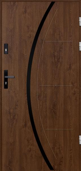 drzwi Polstar Phoenix noir - Aluthermo lock