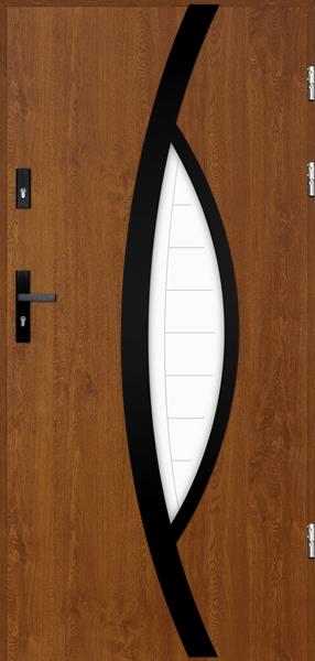 drzwi Polstar Pegasus noir - Aluthermo lock