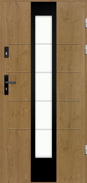 drzwi Polstar Torres noir - Aluthermo lock