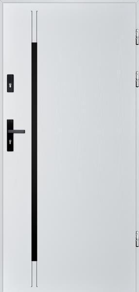 drzwi Polstar Alvarado noir - Aluthermo lock