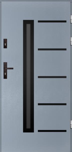 drzwi Polstar Picard noir - Comfort 73