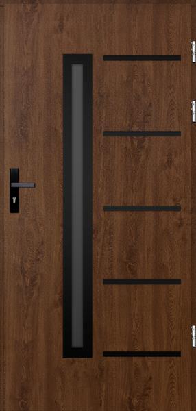 drzwi Polstar Picard noir - Comfort 73 Plus