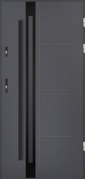 drzwi Polstar Galileo noir - Comfort 73 ECO