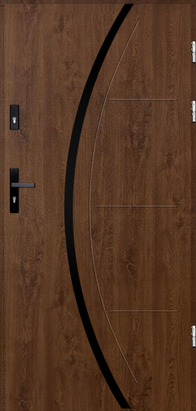 drzwi Polstar Phoenix noir - Comfort 73 ECO