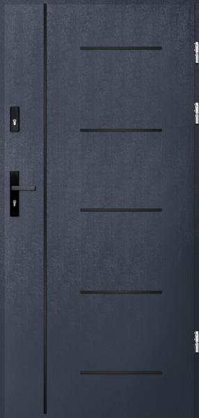 drzwi Polstar Cortez noir - Aluthermo lock