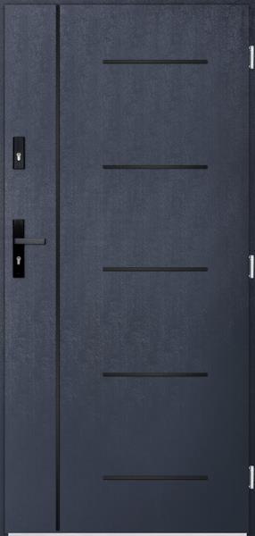 drzwi Polstar Cortez noir - Superior 55 Plus