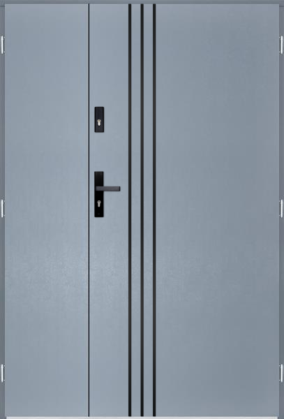 drzwi Polstar Gama noir - Superior 55 Plus
