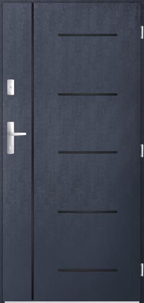drzwi Polstar Cortez noir - Fast silentium