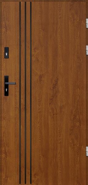 drzwi Polstar Gama noir - Comfort 73