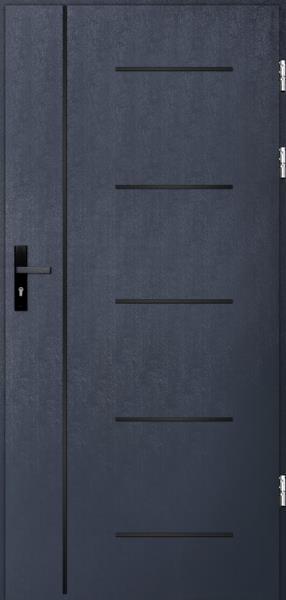 drzwi Polstar Cortez noir - Comfort 73 Plus
