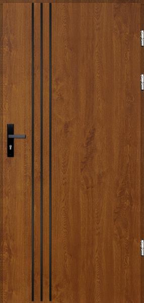 drzwi Polstar Gama noir - Comfort 73 Plus