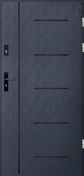 drzwi Polstar Cortez noir - Comfort 73 ECO
