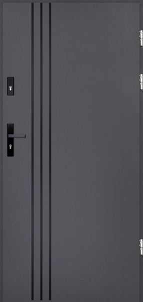 drzwi Polstar Gama noir - Comfort 73 ECO
