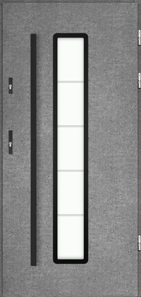 drzwi Polstar Adara noir - Comfort 73