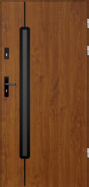 drzwi Polstar Rigel noir - Comfort 73 ECO